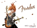 FENDER-cartoon-guitar-wallpaper