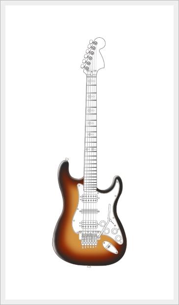Cartoon guitar lol rofl com