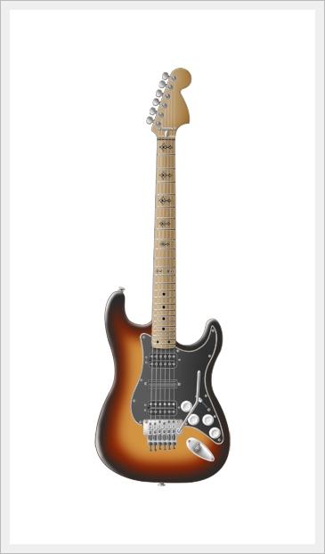 Guitar Drawing Tutorial