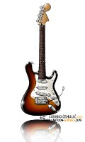 FENDER-Stratocaster-electric-guitar-caricature