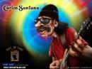 Carlos-Santana-caricature-free-wallpaper